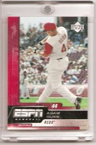 2005 Upper Deck ESPN #26 Adam Dunn Cincinnati Reds Baseball Card