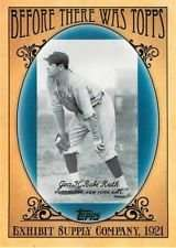 Babe Ruth 2011 Topps (Before There Was Topps) Baseball Card #BTT4