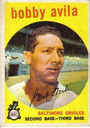 1959 Topps #363 Bobby Avila VG - Very Good or Better