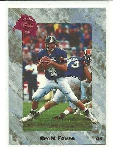 1991 Classic Brett Favre Rookie Card #129