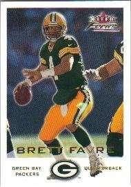 2000 Fleer Focus #64 Brett Favre - Green Bay Packers
