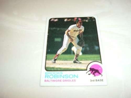 1973 Topps Brooks Robinson 1973  Topps Baseball Card #90
