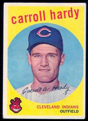 1959 Topps #168 Carroll Hardy EX - Excellent or Better [Misc.]