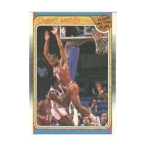1998/1989 Fleer#129 Charles Barkley Philadelphia 76ers Basketball Card