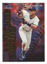 Derek Jeter 1999 Fleer Tradition Baseball Card #585 (Franchise Futures)