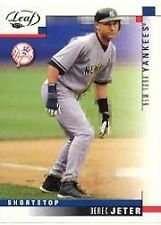 Derek Jeter 2003 Leaf Baseball Card #69