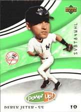 Derek Jeter 2004 Upper Deck Power Up Baseball Card #58