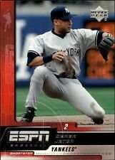 Derek Jeter 2005 Upper Deck ESPN Baseball Card #60