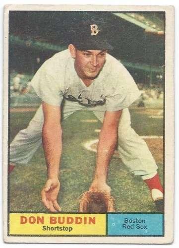 1961 Topps #99 Don Buddin