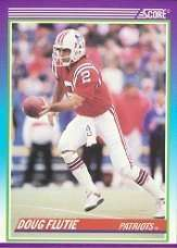 1990 Score Doug Flutie Football Card #535 - Shipped In Protective Display Case!