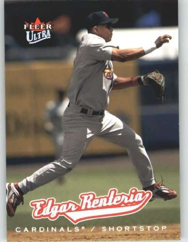 2005 Ultra #141 Edgar Renteria - St. Louis Cardinals (Baseball Cards)
