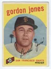 1959 Topps #458 Gordon Jones EX - Excellent or Better
