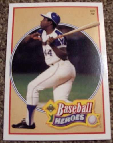 1991 Upper Deck Hank Aaron #23 Baseball Heroes
