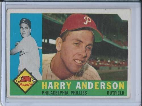 1960 Topps #285 Harry Anderson EX - Excellent or Better