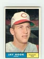 1961 Topps #162 Jay Hook EX - Excellent or Better