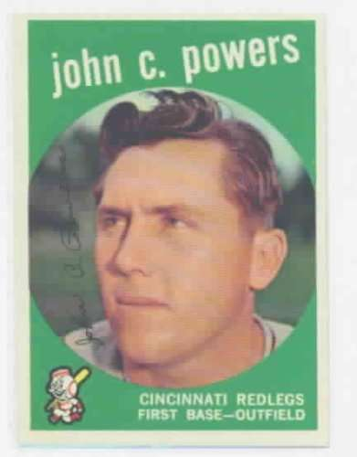 1959 Topps #489 John Powers Excellent-Near Mint [Misc.]