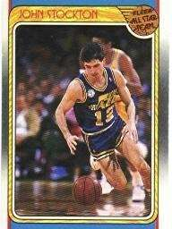 John Stockton 1988-89 Fleer All-Star Card #127