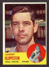 1963 Topps Johnny Klippstein Baseball Card #571