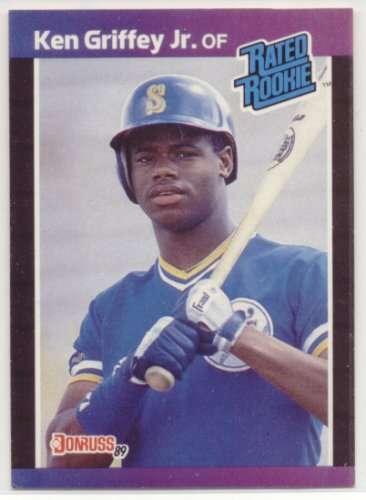 1989 Donruss #33 Ken Griffey Jr.... Seattle Mariners Baseball Card