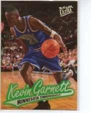 1996/1997 Fleer #64 Kevin Garnett Minnesota Timberwolv Basketball Card
