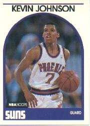 1989-90 Hoops #35 Kevin Johnson Rookie