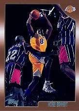 1998-99 Topps #68 Kobe Bryant - Los Angeles Lakers