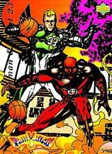 1992-93 Upper Deck Larry Bird / Michael Jordan Fanimation Basketball Card #510