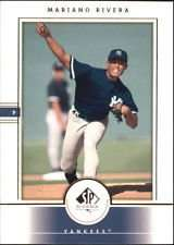 2000 Upper Deck SP Authentic Mariano Rivera Baseball Card #40