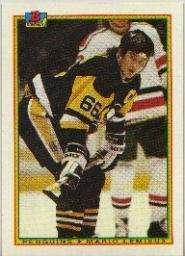 Mario Lemieux 1990-91 Bowman Card #204