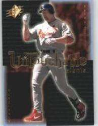2001 SPx Untouchable Talents #UT3 Mark McGwire - St. Louis Cardinals (Baseball Cards)