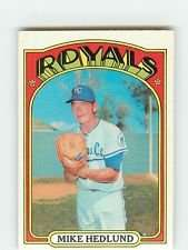 1972 Topps #81 Mike Hedlund
