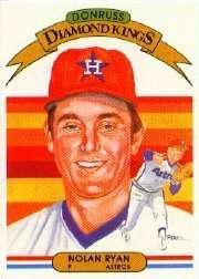 1982 Donruss #13 Nolan Ryan Houston Astros Baseball Card