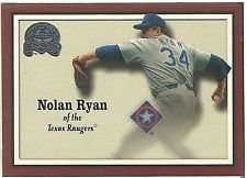 2000 Fleer Greats of the Game Nolan Ryan Baseball Card #33