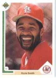 1991 Upper Deck #162 Ozzie Smith - St. Louis Cardinals (Baseball Cards)