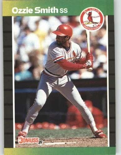 1989 Donruss #63 Ozzie Smith - St. Louis Cardinals (Baseball Cards)