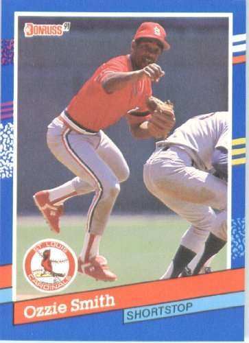 1991 Donruss #240 Ozzie Smith St. Louis Cardinals Baseball Card
