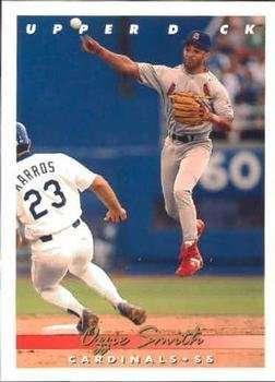1993 Upper Deck #146 Ozzie Smith - St. Louis Cardinals (Baseball Cards)