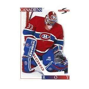 1995/1996 Score #145 Patrick Roy Montreal Canadiens Hockey Card