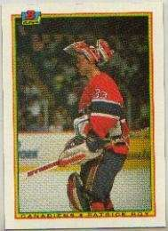 Patrick Roy 1990-91 Bowman Card #50