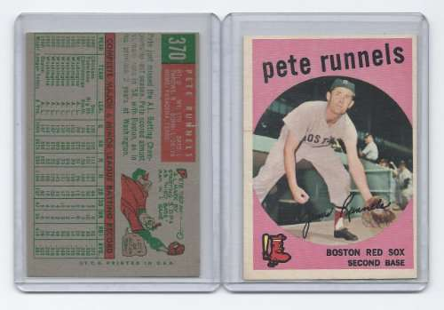 1959 Topps #370 Pete Runnels EX - Excellent or Better