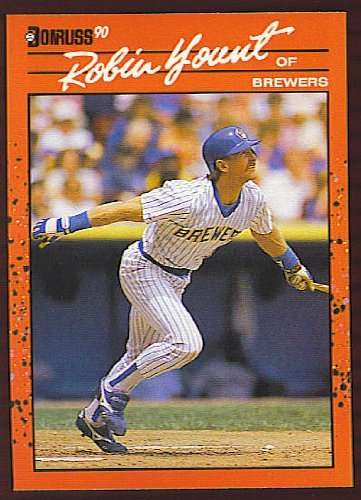 1990 Donruss #146 Robin Yount Milwaukee Brewers Baseball Card