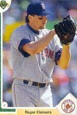 1991 Upper Deck Roger Clemens Baseball Card #655 - Shipped In Protective Display Case!