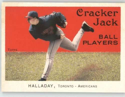 2004 Topps Cracker Jack Mini #91 Roy Halladay - Toronto Blue Jays (Baseball Cards)