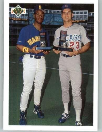 1991 Upper Deck Final Edition #79F Ken Griffey Jr..... / Ryne Sandberg CL