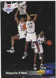 1992-93 Upper Deck #1B Shaquille O'Neal (Redemption Trade Card)
