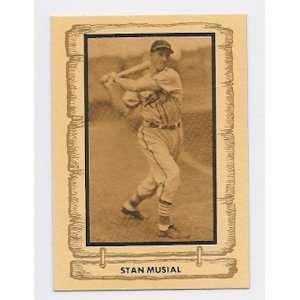 Stan Musial 1980 Pacific Cramer Sports Legends Card #8