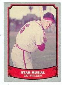 Stan Musial baseball card 1988 Pacific Baseball Legends #6 (St. Louis Cardinals)
