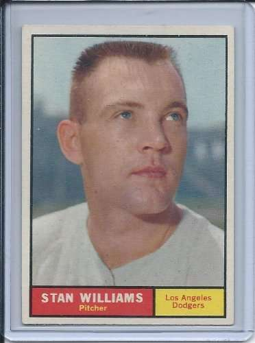1961 Topps #190 Stan Williams Excellent-Near Mint