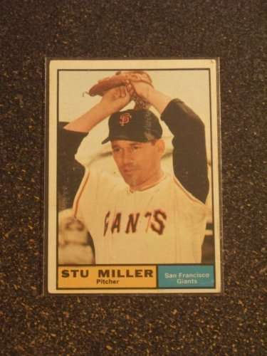 1961 Topps #72 Stu Miller EX - Excellent or Better [Misc.]