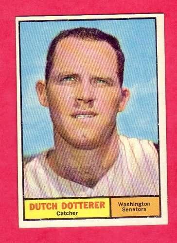 1961 Topps #332 Dutch Dotterer Excellent-Near Mint [Misc.]
